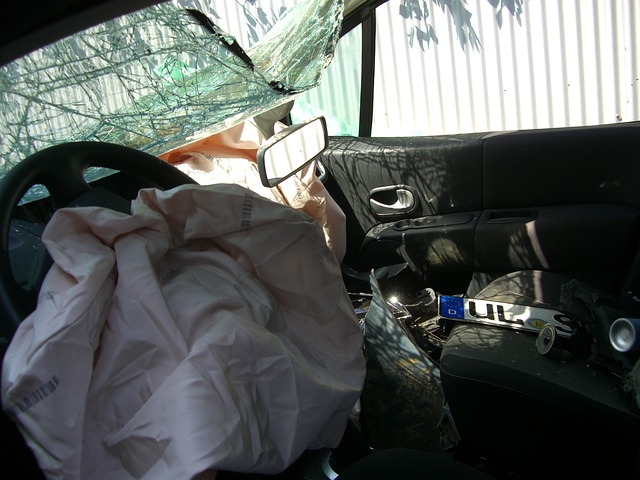 Toyota Airbag Deployed